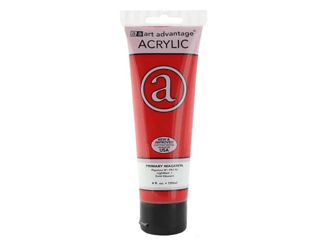Art Advantage Acrylic Paint 4 oz. Primary Magenta