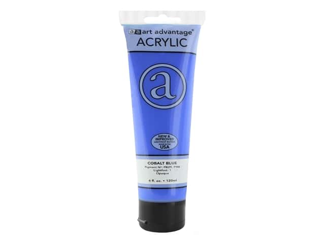 Art Advantage Acrylic Paint 4oz Cobalt Blue