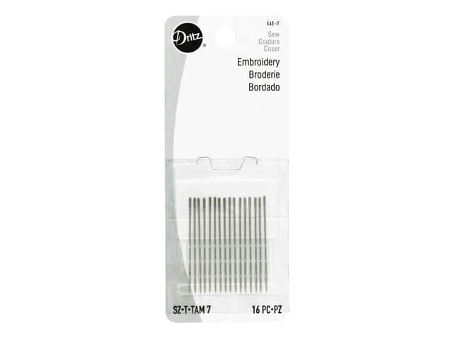 Dritz Embroidery Needles Size 7 16 pc.