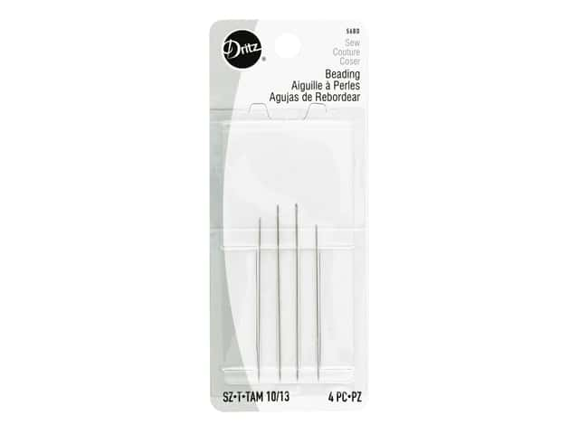 Dritz Beading Needles Size 10/13 4 pc.