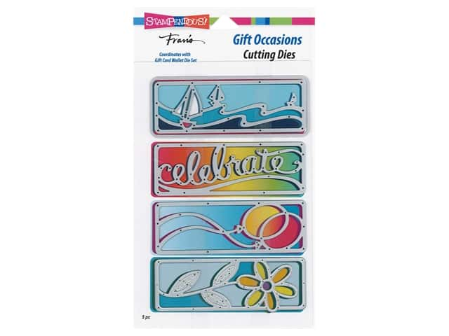 Stampendous Die Fran's Gift Occasions