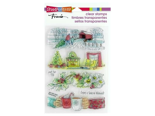 Stampendous Clear Stamp Fran's Holiday Gift