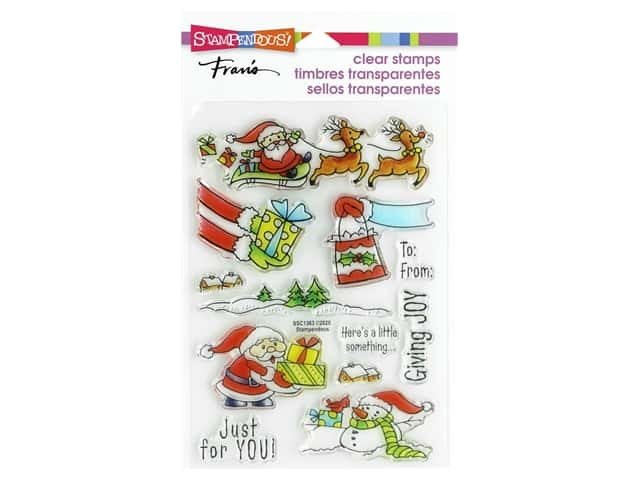 Stampendous Clear Stamp Fran's Christmas Gift