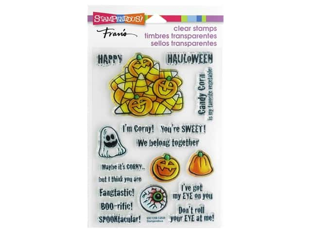 Stampendous Clear Stamp Fran's Corny Sweets