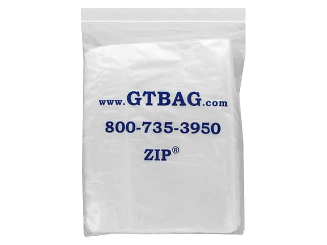 GTZIP Plain 2 Mil Zip Bags 10 x 12 in. Clear 100 pc.