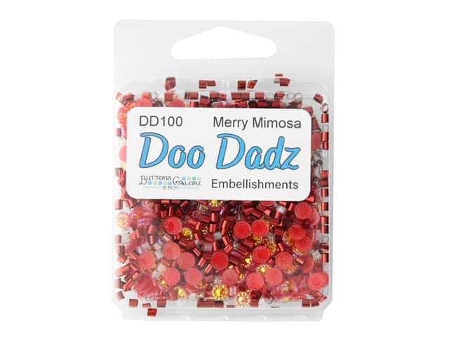 Buttons Galore Embellishments DooDadz Merry Mimosa