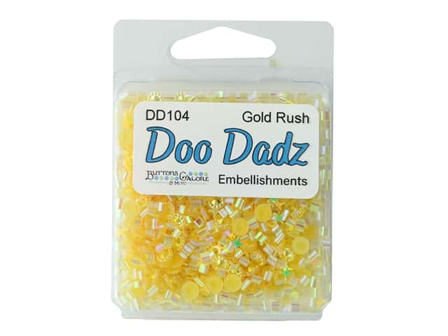 Buttons Galore Embellishments DooDadz Gold Rush