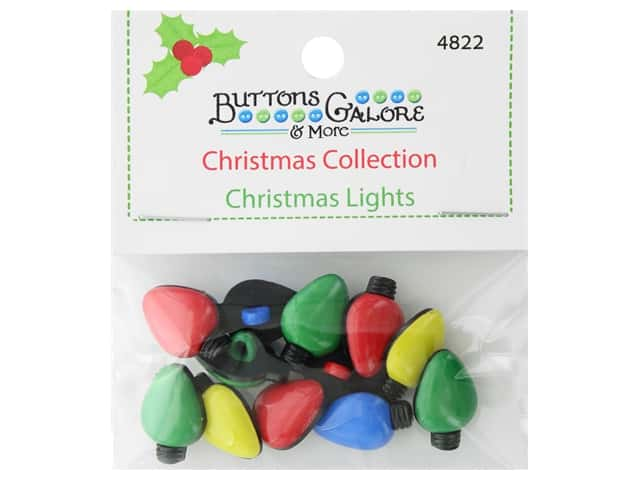 Buttons Galore Theme Button Christmas Collection Christmas Lights