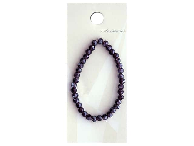 Resinate Bead Glass 4 mm Violet