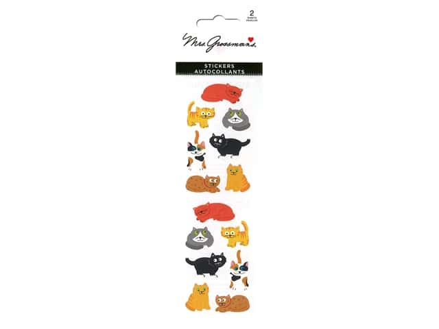 Mrs Grossman's Stickers - Chubby Cats