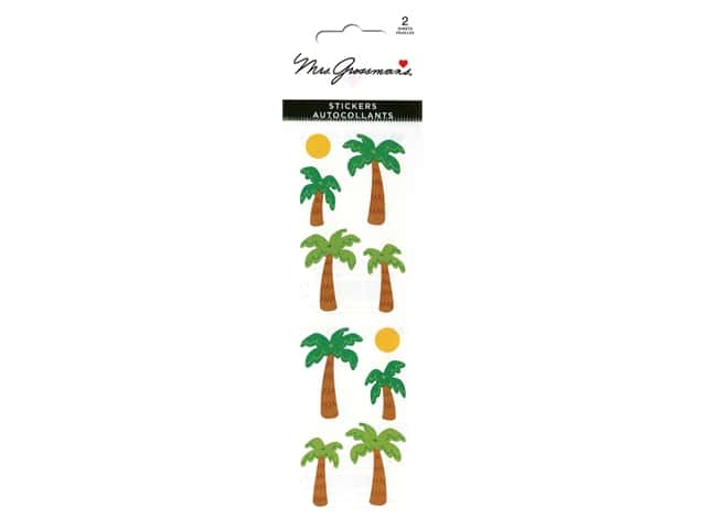 Mrs Grossman's Stickers - Palm Trees & Suns