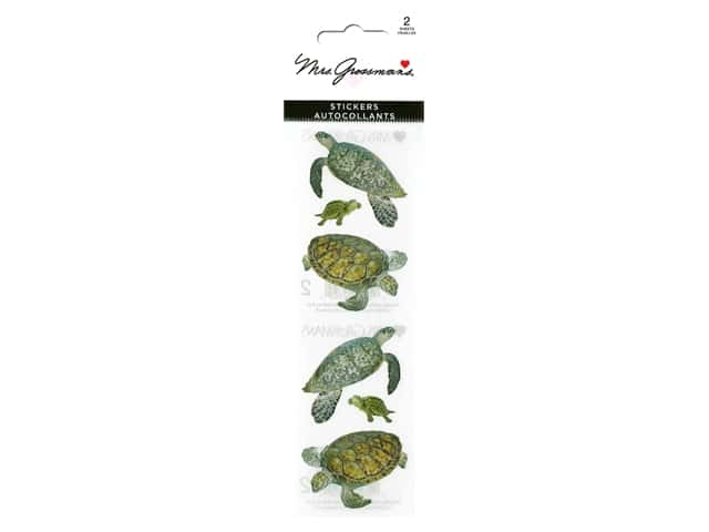 Mrs Grossman's Stickers - Sea Turtles