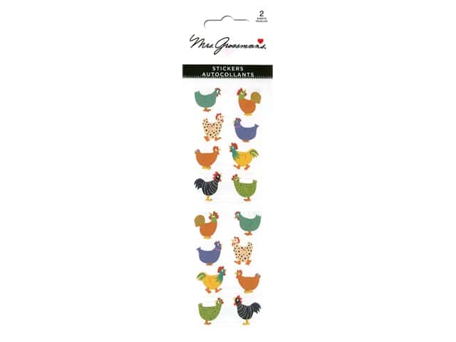 Mrs Grossman's Stickers - Chubby Chickens
