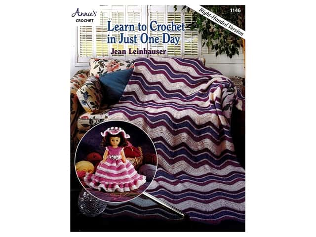 Learn to Crochet in Just One Day Book