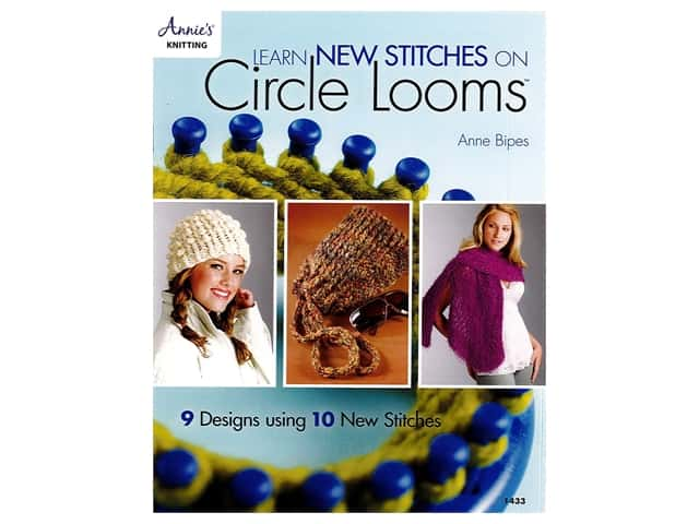 Learn New Stitches on Circle Looms Book