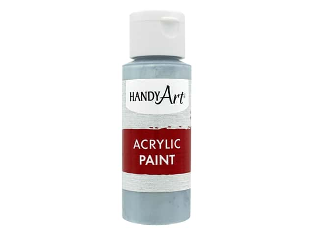 Handy Art Acrylic Paint 2 oz. Metallic Silver