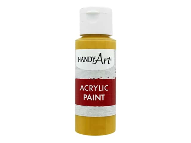 Handy Art Acrylic Paint 2 oz. Yellow Oxide