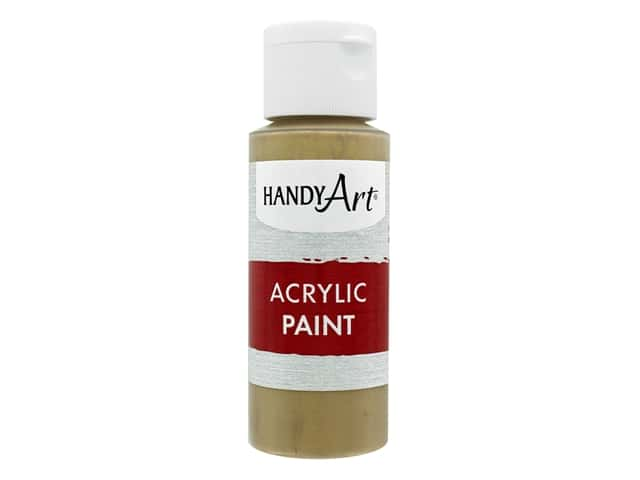 Handy Art Acrylic Paint 2 oz. Metallic Gold