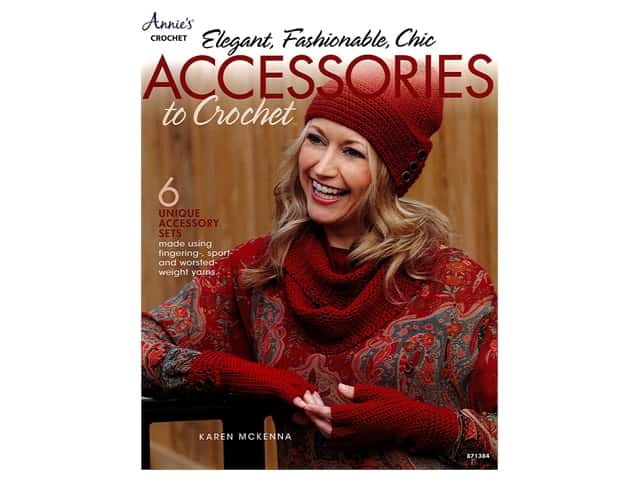 Elegant, Fashionable, Chic Accessories to Crochet Book