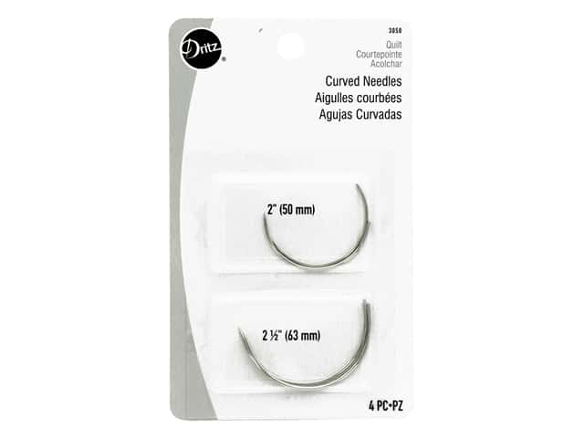 Dritz Curved Needles 4 pc.