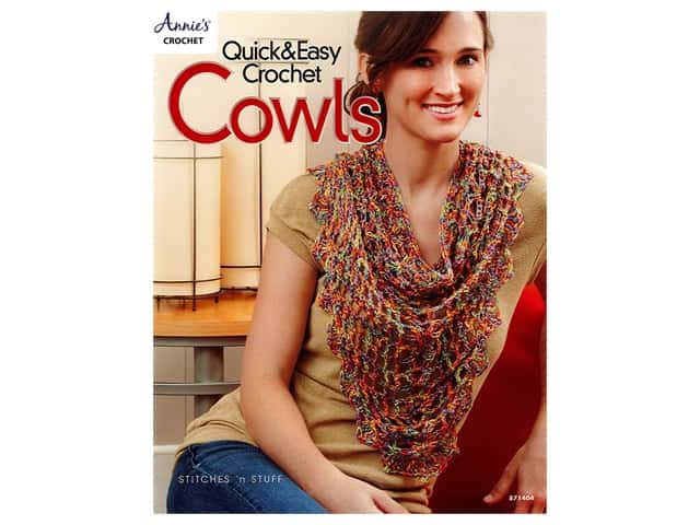 Annie's Quick & Easy Crochet Cowls Book