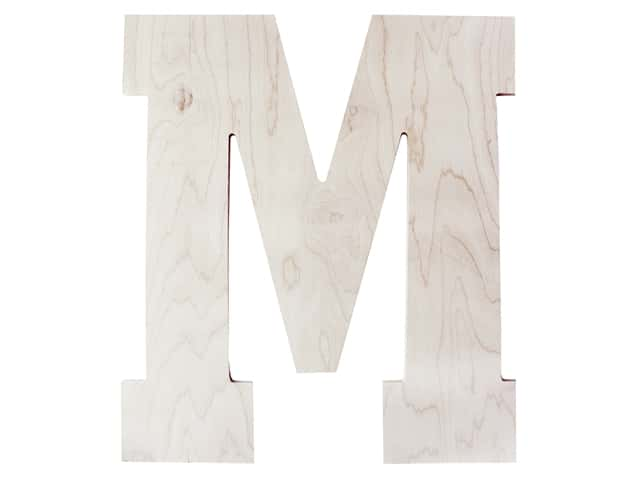 "MPI Marketing Wood Letter 13"" Baltic Birch M"