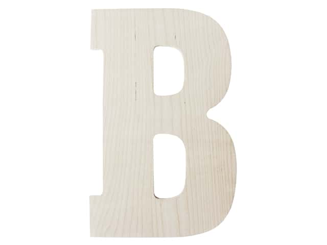 "MPI Marketing Wood Letter 13"" Baltic Birch B"