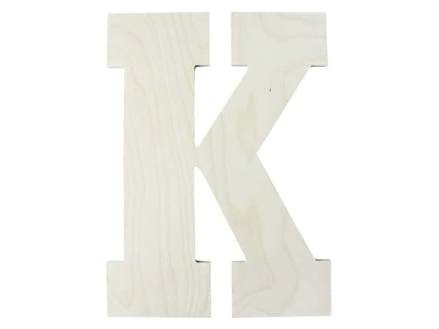 "MPI Marketing Wood Letter 13"" Baltic Birch K"