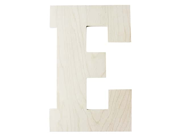 "MPI Marketing Wood Letter 13"" Baltic Birch E"