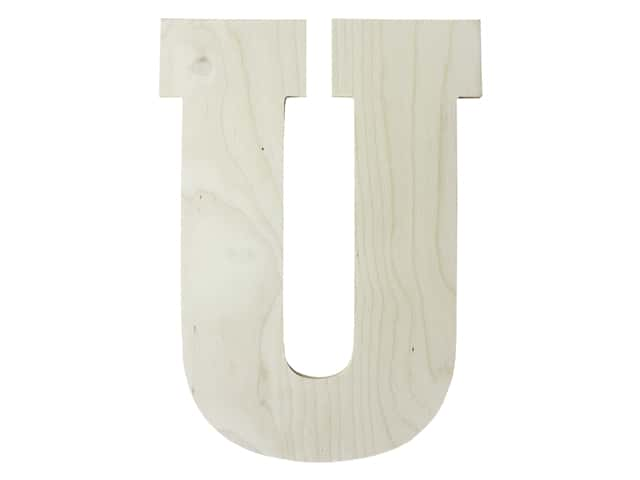 "MPI Marketing Wood Letter 13"" Baltic Birch U"