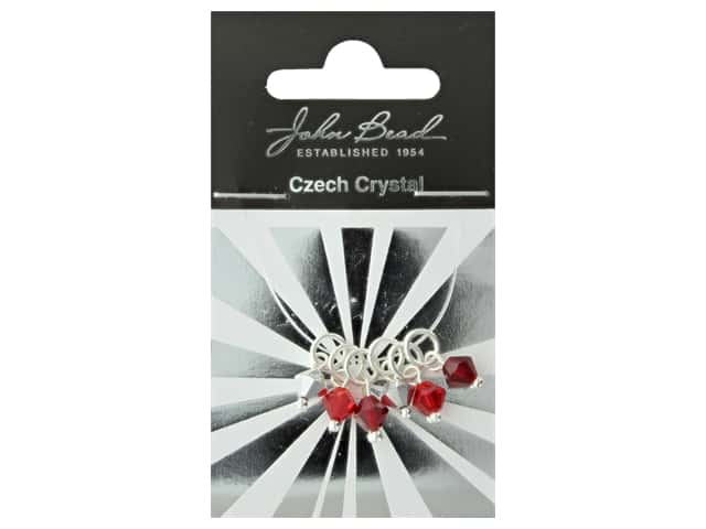 John Bead Czech Bicone Charms 6mm Royal Jewels