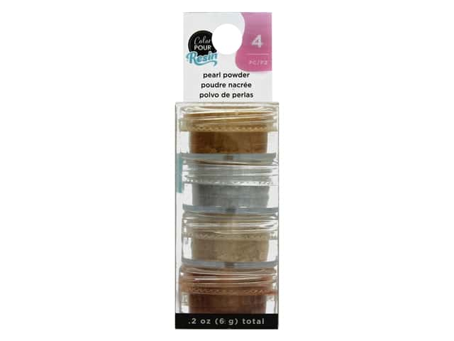 American Crafts Color Pour Mix In Pearlescent Powder Metallic