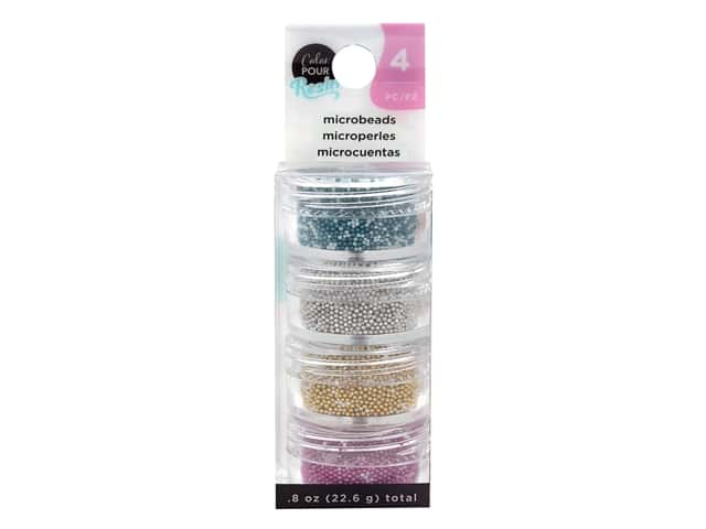 American Crafts Color Pour Mix In Microbeads