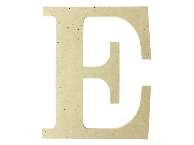 "MPI Marketing Wood Letter 9.5"" MDF E"
