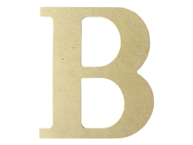 "MPI Marketing Wood Letter 9.5"" MDF B"