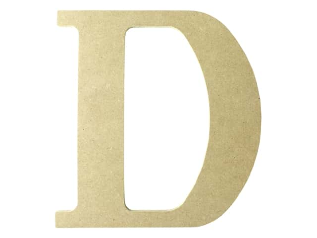 "MPI Marketing Wood Letter 9.5"" MDF D"