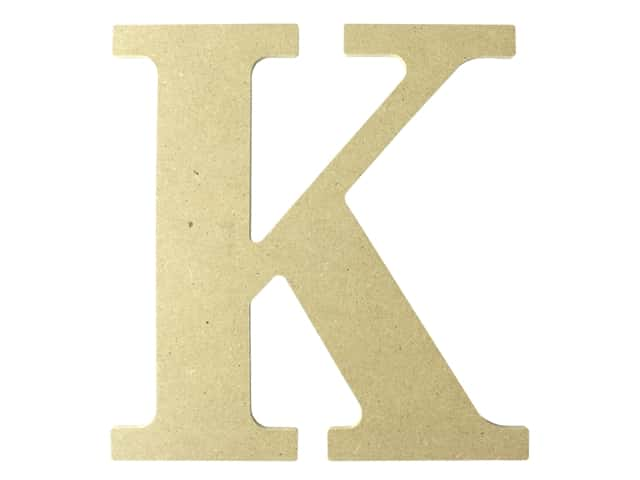 "MPI Marketing Wood Letter 9.5"" MDF K"