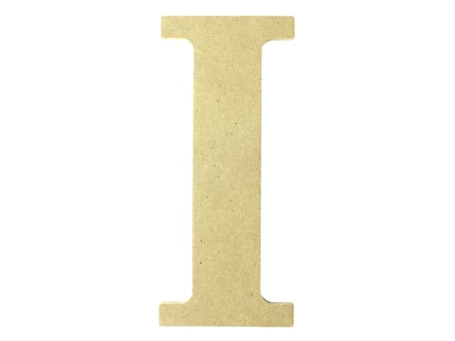 "MPI Marketing Wood Letter 9.5"" MDF I"