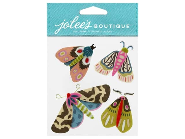EK Jolee's Boutique Beautiful Moths