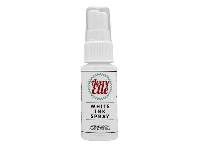 Avery Elle Ink Spray White