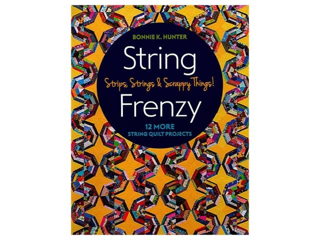 C&T Publishing String Frenzy Book