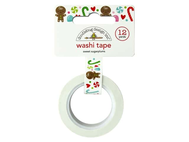 Doodlebug Night Before Christmas Washi Tape Sweet Sugarplums
