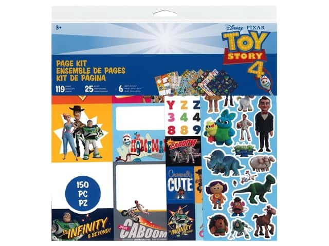 American Crafts Page Kit Disney Pixar Toy Story 4