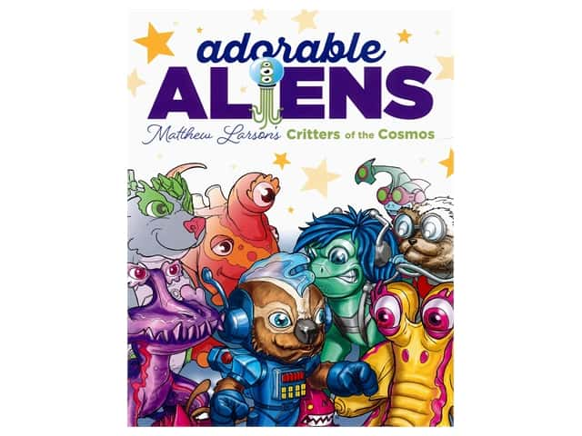 Adorable Aliens: Critters of the Cosmos Coloring Book