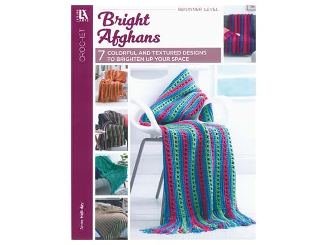Bright Afghans Crochet Book