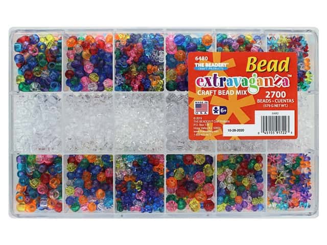 The Beadery Bead Extravaganza Box Giant Craft