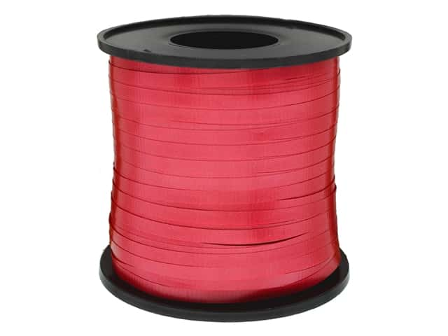 Unique Curling Ribbon Red 500yd