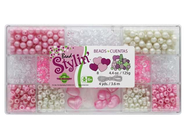 The Beadery Stylin' Bead Box Bubblegum