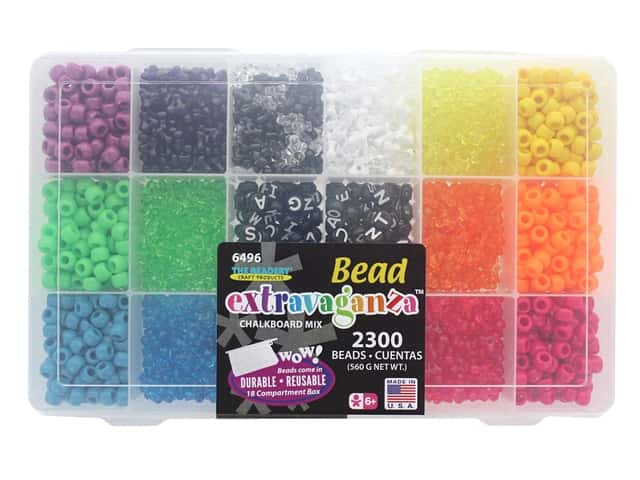 The Beadery Bead Extravaganza Box Chalkboard Mix