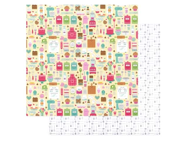 Doodlebug Collection Made With Love Paper 12 in. x 12 in. Made With Love